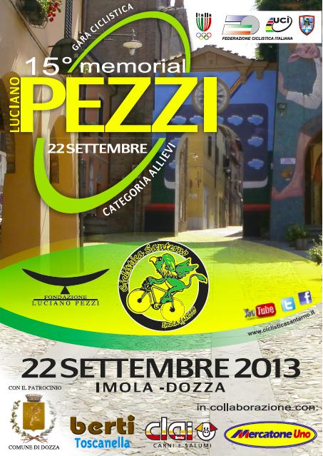 Volantino Memorial Pezzi 2013 Prima Pagina