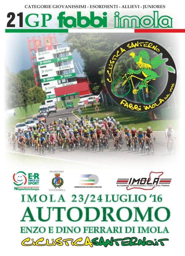 21 Gp Fabbi Imola - Cover