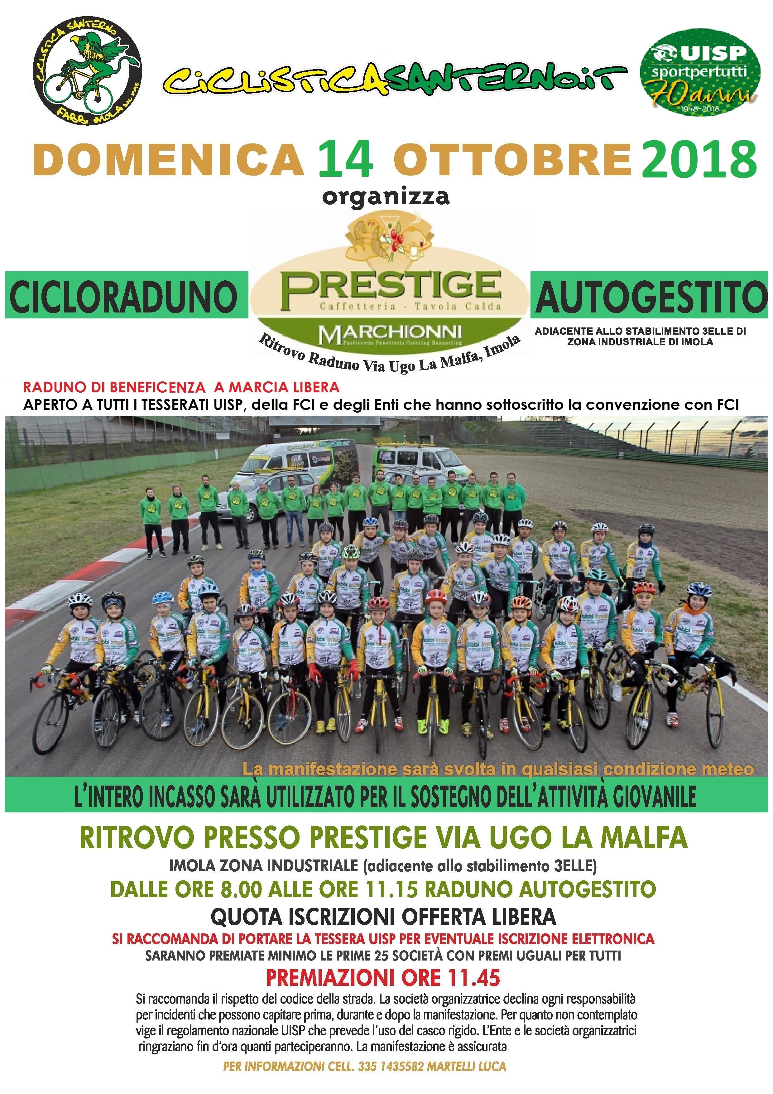 Montefiori 6° alla Lugo-San Marino, domenica 14 ottobre raduno ...